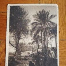 Postales: ANTIGUA POSTAL EGIPTO PAISAJE NATIVO MARIA - EGYPT NATIVE SCENERY AT MARY - ED. LEHNERT & LANDROCK,. Lote 114508139