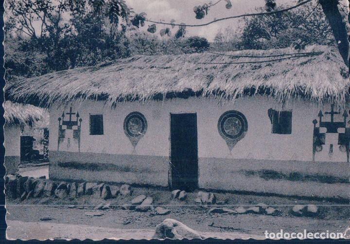POSTAL EL CONGO - LE CONGO D'AUJOURD'HUI - CASE DECOREE - NELS - PHOTOTHILL (Postales - Postales Extranjero - África)
