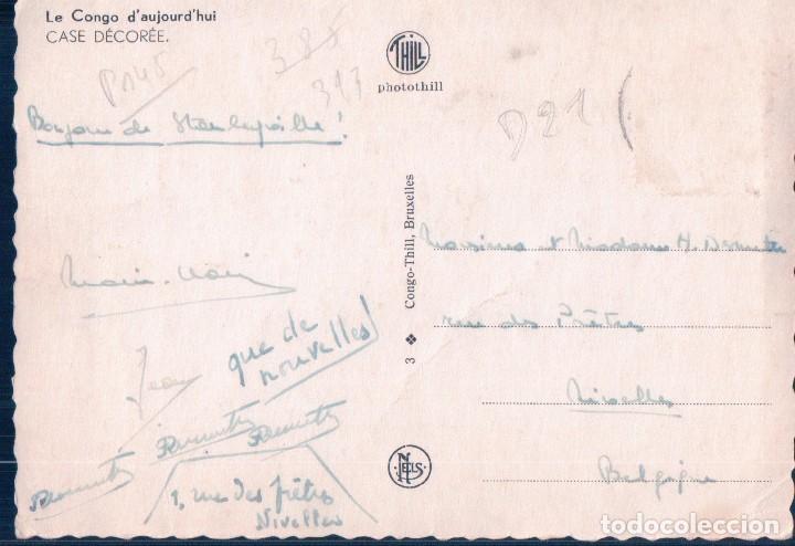 Postales: POSTAL EL CONGO - LE CONGO DAUJOURDHUI - CASE DECOREE - NELS - PHOTOTHILL - Foto 2 - 114998071