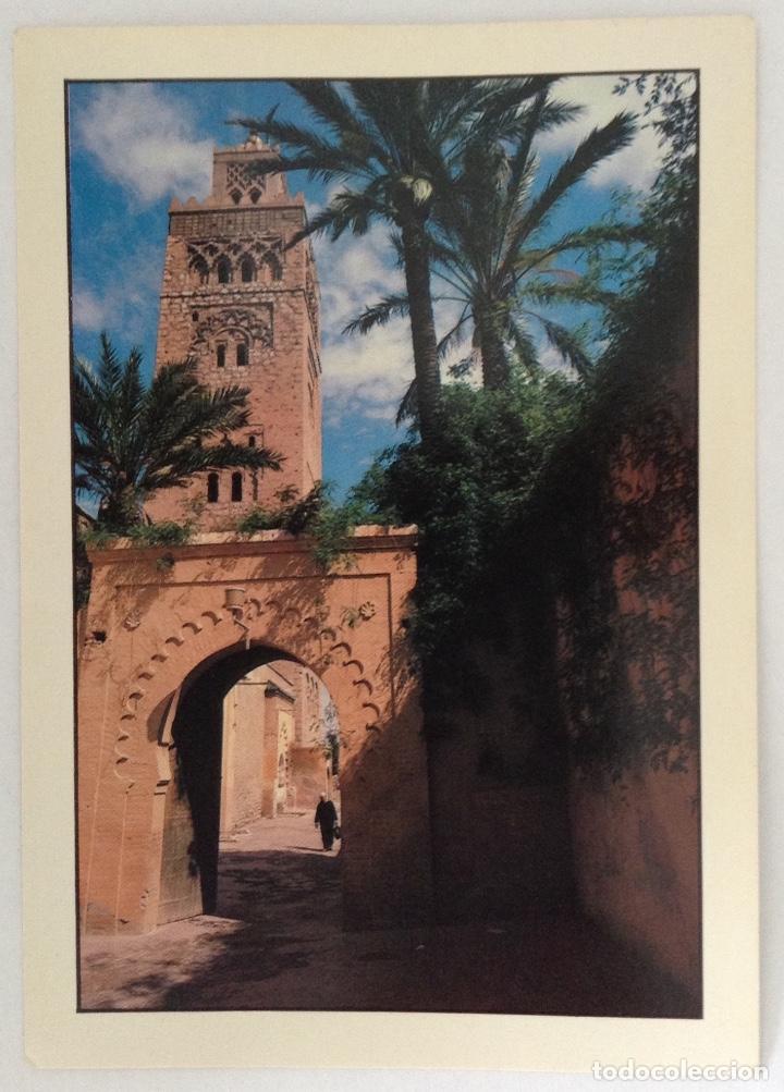 LA MYSQUITE KOUTOUBIA MARRAKECH POSTAL (Postales - Postales Extranjero - África)