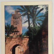 Postales: LA MYSQUITE KOUTOUBIA MARRAKECH POSTAL. Lote 115092487