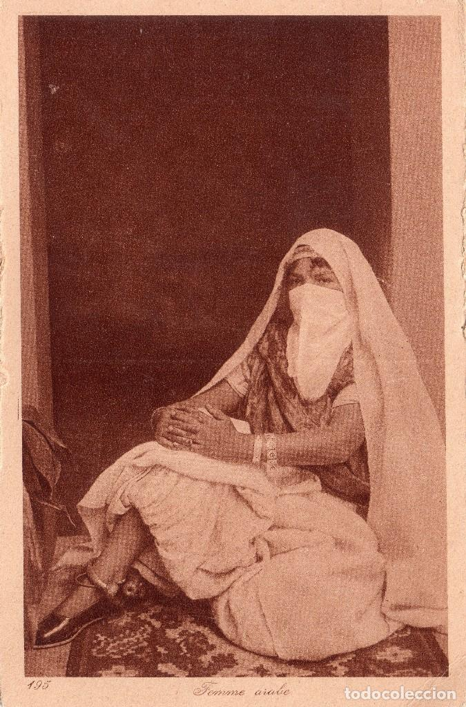 FEMME ARABE. EDI. L. & L. SIN CIRCULAR (Postales - Postales Extranjero - África)