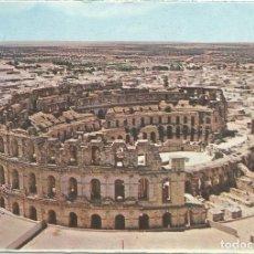 Postais: EL DJEM (TUNEZ) EL ANFITEATRO ROMANO - EDITIONS KAHIA - ESCRITA. Lote 117169051