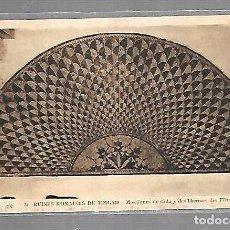 Postales: TARJETA POSTAL DE ARGELIA. RUINES ROMAINES DE TIMGAD. 31. MOSAIQUES DE DALLAGE DES THERMES. Lote 121219699