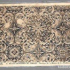 Postales: TARJETA POSTAL DE ARGELIA. RUINES ROMAINES DE TIMGAD. 30. MOSAIQUE DE LA MAISON DE LA PISCINA. Lote 121219839