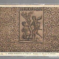 Postales: TARJETA POSTAL DE ARGELIA. TIMGAD. 32. MOSAIQUE DES THERMES DES FILADELFES. Lote 121220223