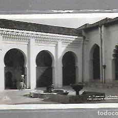Postales: TARJETA POSTAL DE TLEMCEN, ARGELIA - LA GRANDE MOSQUEE COUR INTERIEURE ET BASSIN AUX ABLUTIONS. Lote 121312727