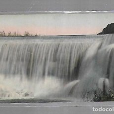 Postales: TARJETA POSTAL DE RELIZANE, ARGELIA - GRANDE CHUTE DES EAUX DE LA MINA. FOTO COMBIER MACON. Lote 121312999