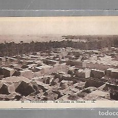 Postales: TARJETA POSTAL DE TOUGGOURT, ARGELIA - VUE GENERALE DE TEMACIN. 16. LL. Lote 121313063