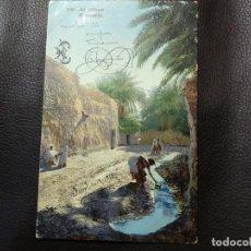 Postales: POSTAL AL PUEBLO. LEHNERT&LANDROCK. CIRCULADA. DATADA EN 1915.. Lote 121516551