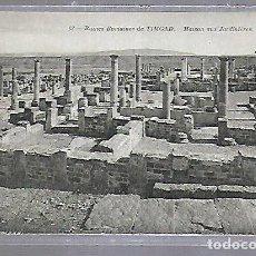 Postales: TARJETA POSTAL. ARGELIA. RUINES ROMAINES DE TIMGAD - MAISON AUX JARDINIERES. 63. ND PHOTO. Lote 122336135