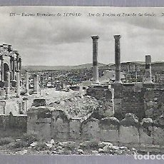 Postales: TARJETA POSTAL. ARGELIA. RUINES ROMAINES DE TIMGAD - ARC DE TRAJAN. 136. ND PHOTO. Lote 122336595
