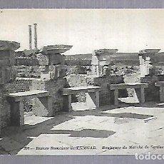 Postales: TARJETA POSTAL. ARGELIA. RUINES ROMAINES DE TIMGAD - BOUTIQUES DU MARCHE DE SERTIUS. 208. ND PHOTO. Lote 122336635
