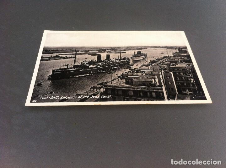 Postales: POSTAL (PORT-SAID. ENTRANCE OF THE SUEZ CANAL) Ed. LEHNERT & LANDROCK SUCC. 14 x 9cm - Foto 1 - 125128511
