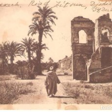 Postales: POSTAL ANTIGUA, MARRUECOS, MARRAKECH, CIRCULADA. Lote 127511751