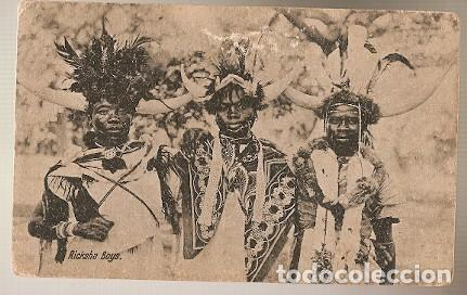 ÁFRICA DEL SUR ** & POSTALE, TIPCO, RICKSHAW BOYS (7997) (Postales - Postales Extranjero - África)