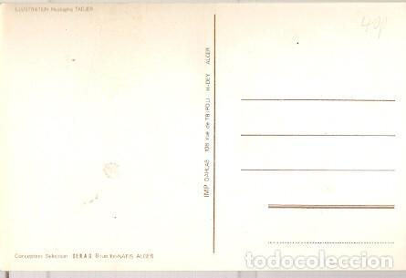Postales: Argelia ** & Postal, Campionato del Mundo de Fútbol, España 1982, Viva Argelia, Mustapha Tadjer (99) - Foto 2 - 127979431