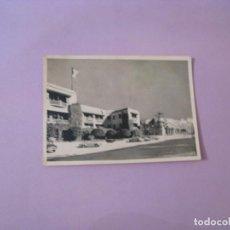 Postales: POSTAL DE MARRUECOS. MARRAKECH. HOTEL EL MAGHREB Y EL ATLAS. CIRCULADA 1958.. Lote 128269587