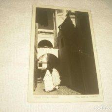 Postales: CALLE TIPICA. TETUAN. FOTO GARCIA CORTES, SIN CIRCULAR.. Lote 128457335