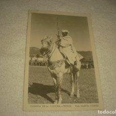 Postales: CORRIDA DE LA POLVORA. TETUAN. FOTO GARCIA CORTES, SIN CIRCULAR.. Lote 128457683