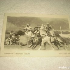 Postales: CORRIDA DE LA POLVORA. TETUAN. FOTO GARCIA CORTES, SIN CIRCULAR.. Lote 128457971
