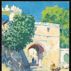 Postales: POSTALES - MARRUECOS. TETUAN. PUERTA DE LA REINA. M. BERTUCHI. EDICIONES HERALMI. . Lote 128746063