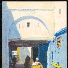 Postales: POSTALES - MARRUECOS. TETUAN. CALLE DE LA SUIKA. M. BERTUCHI. EDICIONES HERALMI. . Lote 128746131