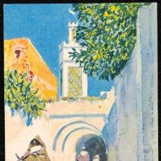 Postales: POSTALES - MARRUECOS. TETUAN. MEZQUITA DE SIDI SAIDI. M. BERTUCHI. EDICIONES HERALMI. . Lote 128746151