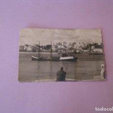 Postales: POSTAL FOTOGRÁFICA DE MARRUECOS. TANGER. EL PUERTO Y LA CIUDAD. ED. CIGOGNE. ESCRITA 1959.. Lote 128787207