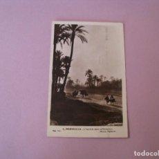 Postales: POSTAL DE MARRUECOS. MARRAKECH. ED. PHOTO FLANDRIN. ESCRITA 1936.. Lote 128787563