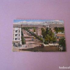 Postales: POSTAL DE MARRUECOS. MARRAKECH. AVDA. MOHAMMED V. ED. PHOTO JEFF. ESCRITA 1963.. Lote 128787683