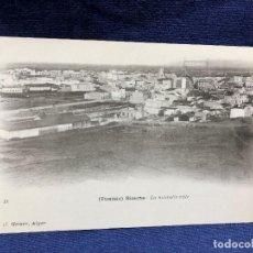 Postales: POSTAL ANTIGUA TUNISIE BIZERTE LA NOUVELLE VILLE J GEISER ALGER 18 NO CIRCULADA NO ESCRITA. Lote 128954343