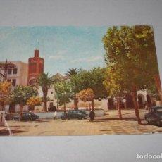 Postales: TETUAN MEZQUITA DE SIDI BEN AISA EN EL FEDDAN, FOTO GARCÍA CORTÉS, ESCRITA 18/03/1959. Lote 195185621