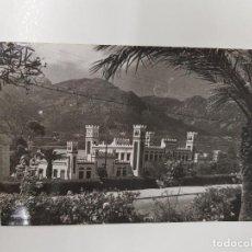 Postales: ANTIGUA POSTAL ESTACIÓN FERROCARRIL TETUÁN MARRUECOS. Lote 132062574