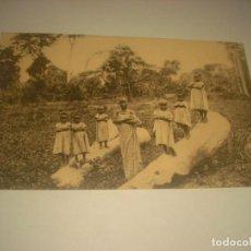 Postales: ENFANTS DE LA MISSION DES SOEURS DE BERLAER . IBEMBO, CONGO ED. BRUXELLES. Lote 132313910