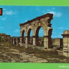 Postales: POSTAL - VOLUBILIS - RUINAS DE FORO - MARRUECOS -. Lote 132973634