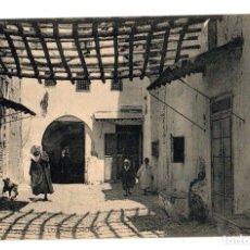 Postales: TARJETA POSTAL TETUAN. BARRIO DE LOS BABUCHEROS. HAUSER Y MENET. Lote 134553382