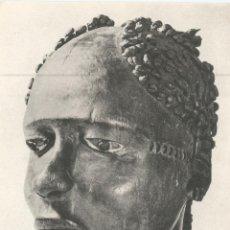 Postales: ESCULTURA AFRICANA, NIGERIA, TRIBU ANYANG - EDITEUR FERNAND HAZAN 906 - S/C. Lote 134711314