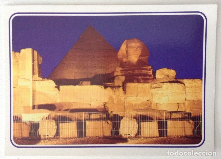 EGIPTO EGYPT GIZA SOUND AND LIGHTER AT THE PYRAMIDS OF GIZA (Postales - Postales Extranjero - África)