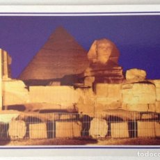 Postales: EGIPTO EGYPT GIZA SOUND AND LIGHTER AT THE PYRAMIDS OF GIZA. Lote 134956470