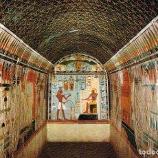 Postales: EGIPTO: MUSEO EGIPCIO, CAPILLA DEL REY TUTHMOSIS III. Lote 135138606