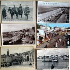 Postales: LOTE DE 6 POSTALES ANTIGUAS DE TANGER, VER FOTOS. Lote 135184442