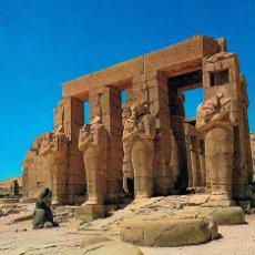 Postales: EGIPTO DE LOS FARAONES: TEBAS, RAMESEUM, TEMPLO DE RAMSES II. Lote 135238214