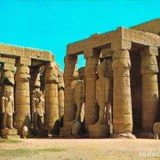 Postales: EGIPTO DE LOS FARAONES: LUXOR, TEMPLO. Lote 135238810