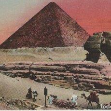 Postales: POSTALES POSTAL EL CAIRO EGIPTO AÑOS 1900 PIRAMIDES. Lote 136196910