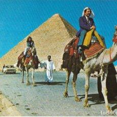 Postales: == B177 - POSTAL - THE BIGGEST PYRAMID AT GIZA - GIZA. Lote 137187862