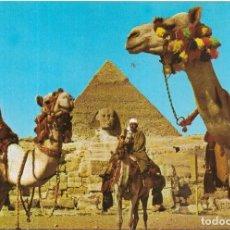 Postales: == B178 - POSTAL - THE SPHINX AND KHAFRE PYRAMID - GIZA. Lote 137188022