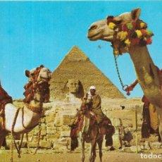 Postales: == B181 - POSTAL - THE SPHINX AND KHAFRE PYRAMID - GIZA. Lote 137188514
