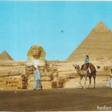Postales: == B182 - POSTAL - THE SPHINX AND KHAFRE PYRAMID - GIZA. Lote 137188718