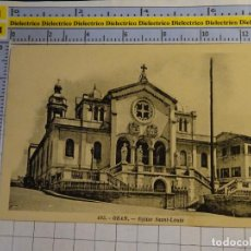 Postales: POSTAL DE ARGELIA. AÑOS 10 30. ORAN IGLESIA SAN LUIS. 1649. Lote 140050506